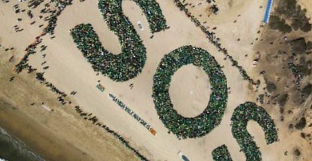 Éxito de las redes sociales para un evento ecológico
