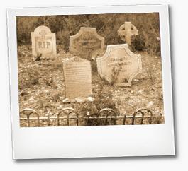 cementerio para casa del terror