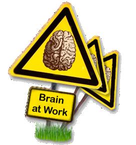 cerebros trabajando para eventos originales